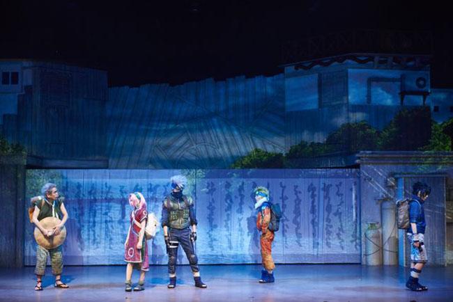 舞台版ナルトに世界が熱視線。今2.5次元が人気!