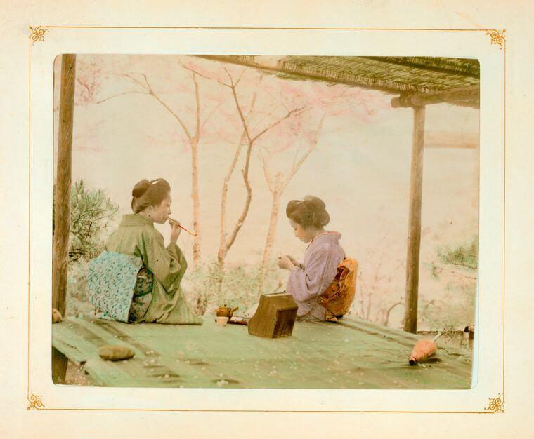 ニューヨーク美術館に所蔵されている1800年代の日本の写真が美しいと海外で話題に!(画像14枚)