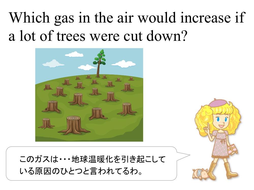 小学5年生 理科「空気の成分」