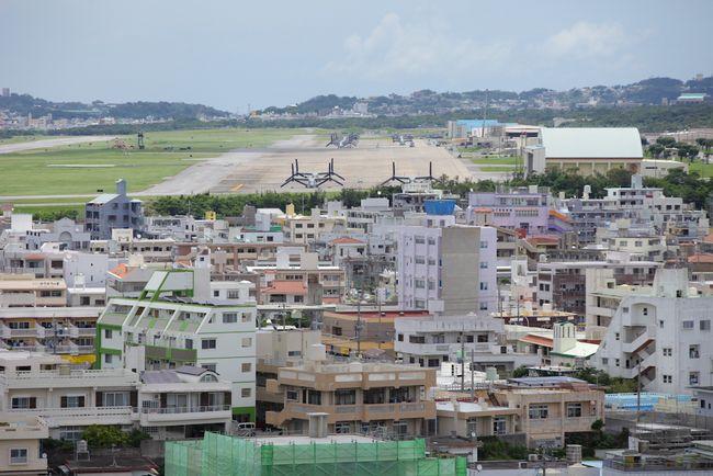 オスプレイとグスク。沖縄の現在・過去・未来が見渡せる公園を往く