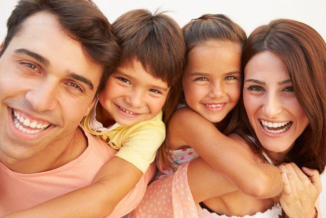 家族みんなが幸せな外国人