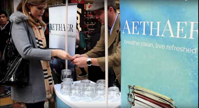 「空気」も爆買い。中国で「英国の新鮮な空気」ボトルがバカ売れ