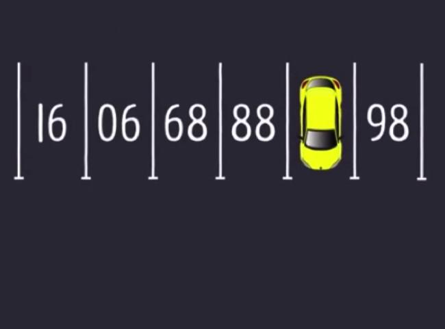 【大人には解けない問題】黄色の車が駐車している場所は何番?