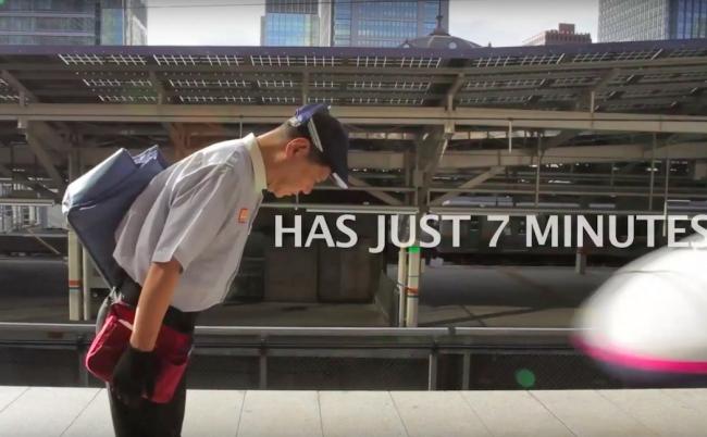 奇跡の7分間。新幹線の清掃員が世界中から賞賛される理由