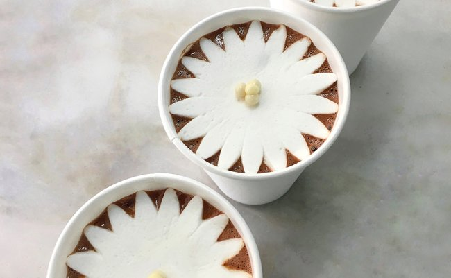 DAB Blossoming Hot Chocolate