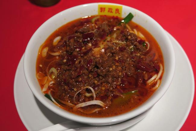 ラーメン官僚が絶妙な唐辛子で目を醒ました、神田の台湾ラーメン味噌