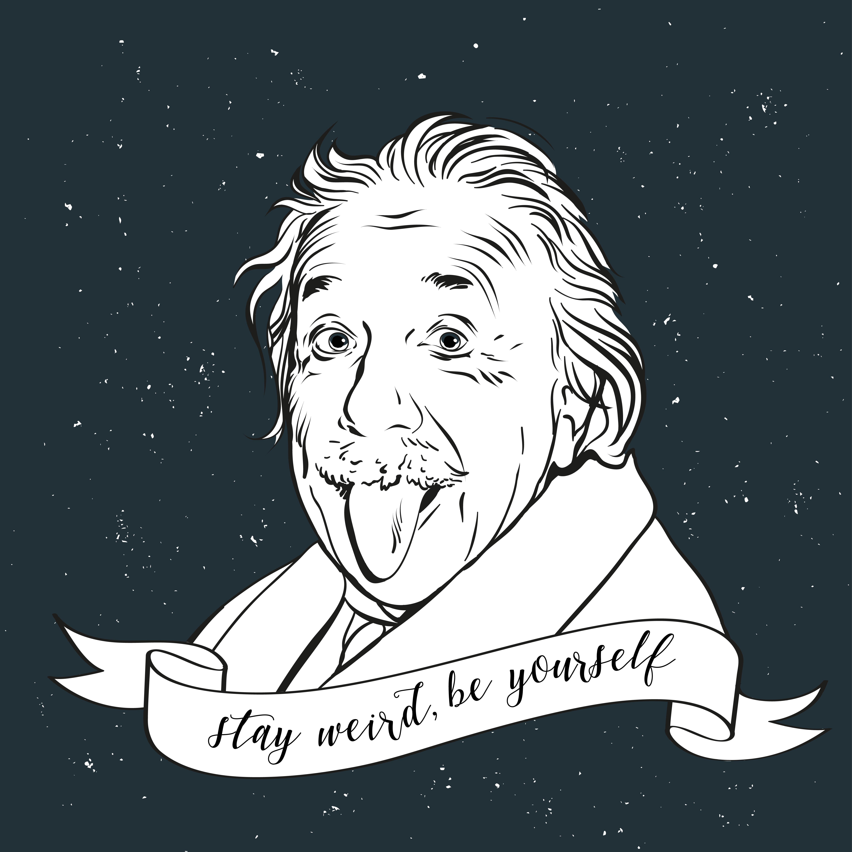 【英語ジョーク】天国のアインシュタインはIQで人を判断する?