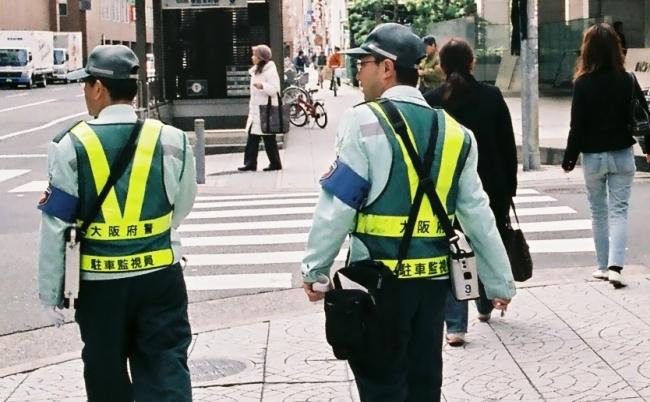 警察も手を出せない。パーキングメーター内にある不都合な「自転車」