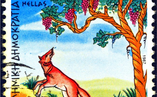 童話『すっぱい葡萄』のキツネはポジティブか? ネガティブか?