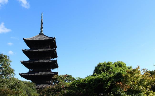 京都のナゾ。なぜ五重塔は、ここまで高く造られたのか?